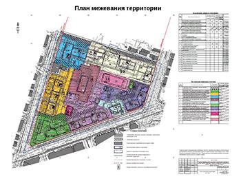 Проект планировки Клин